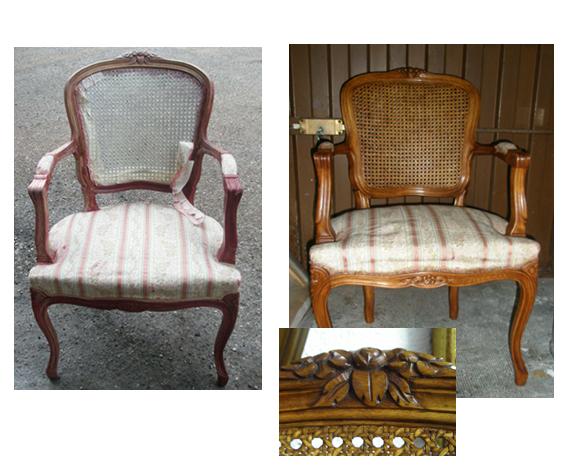 Moniquescultura muebles y artes decorativas - Silla luis xiv ...
