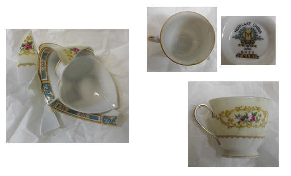 Taza Noritake China