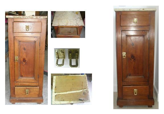 Moniquescultura muebles y artes decorativas - Mesillas de madera ...